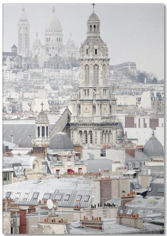 Paris, View Over Paris bloc-notes