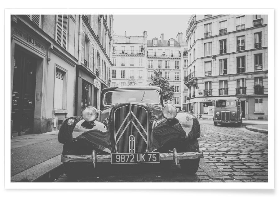 Autos, Vintage Car -Poster