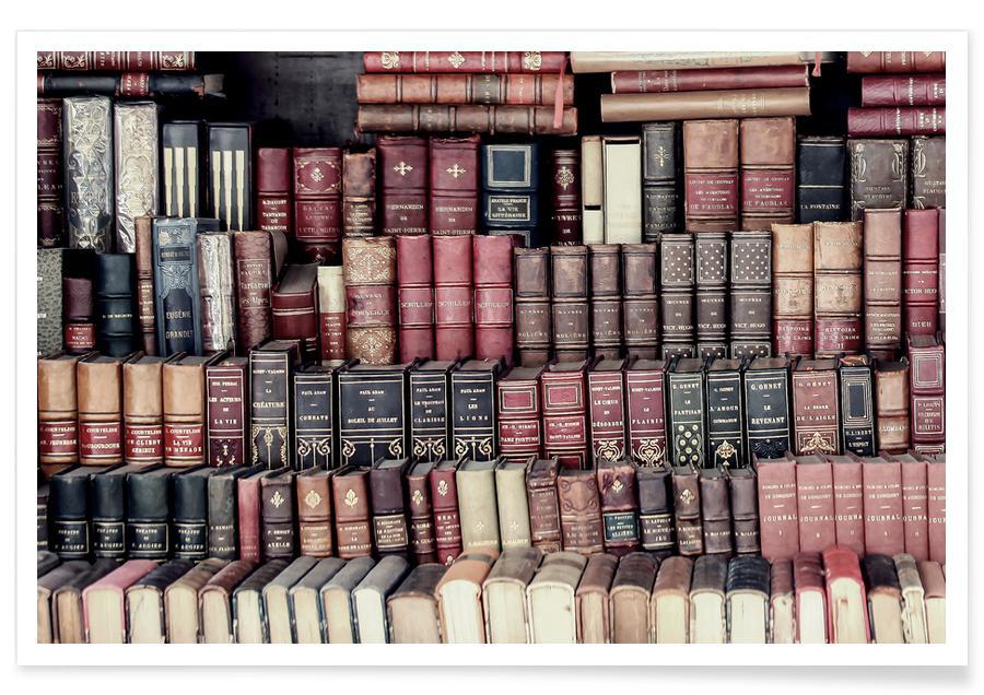 , Vintage Books Poster