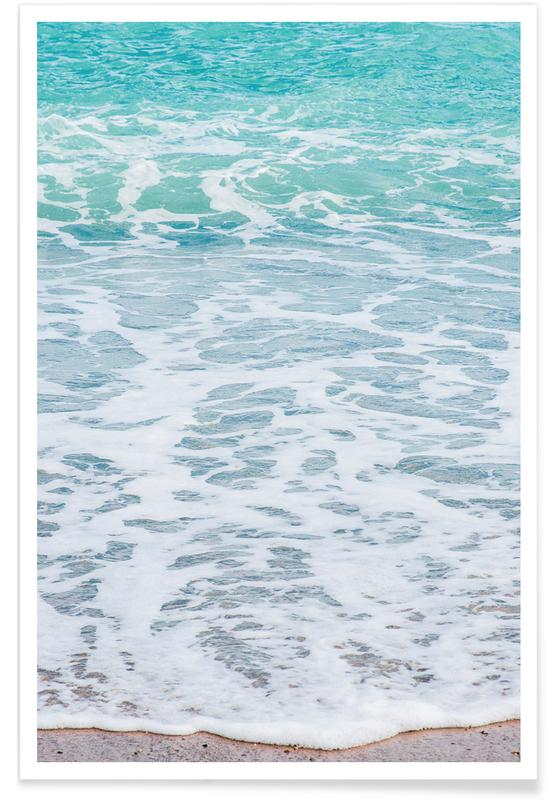 Océans, mers & lacs, Waves affiche
