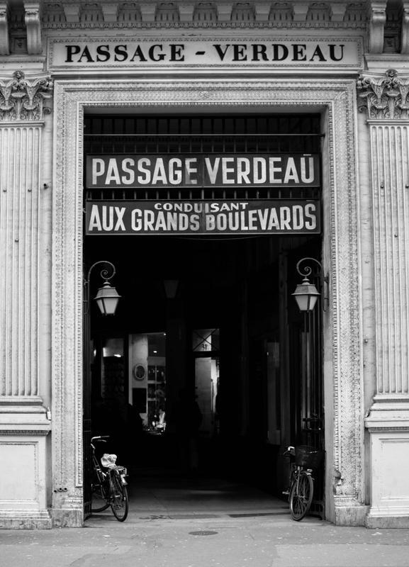 Passage Verdeau toile