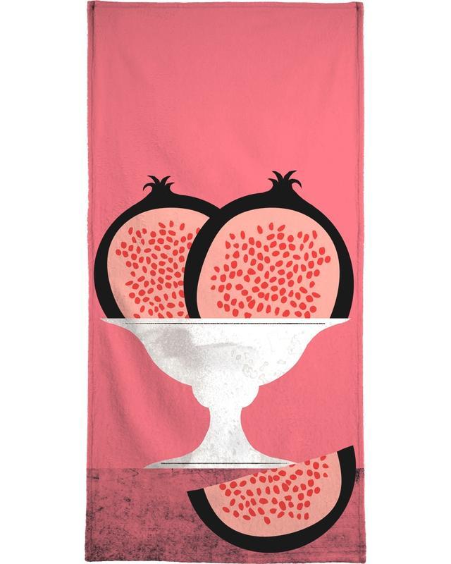 Pomegranate -Handtuch