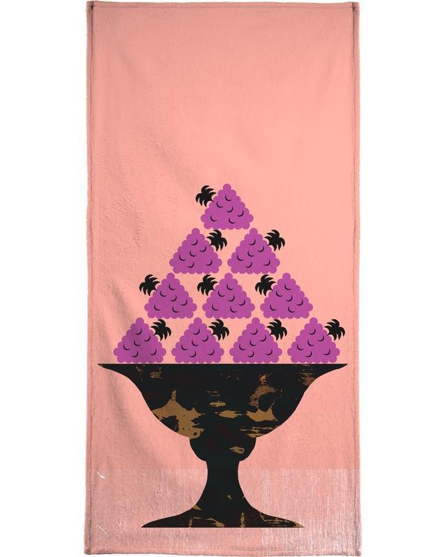 Blackberry Bath Towel