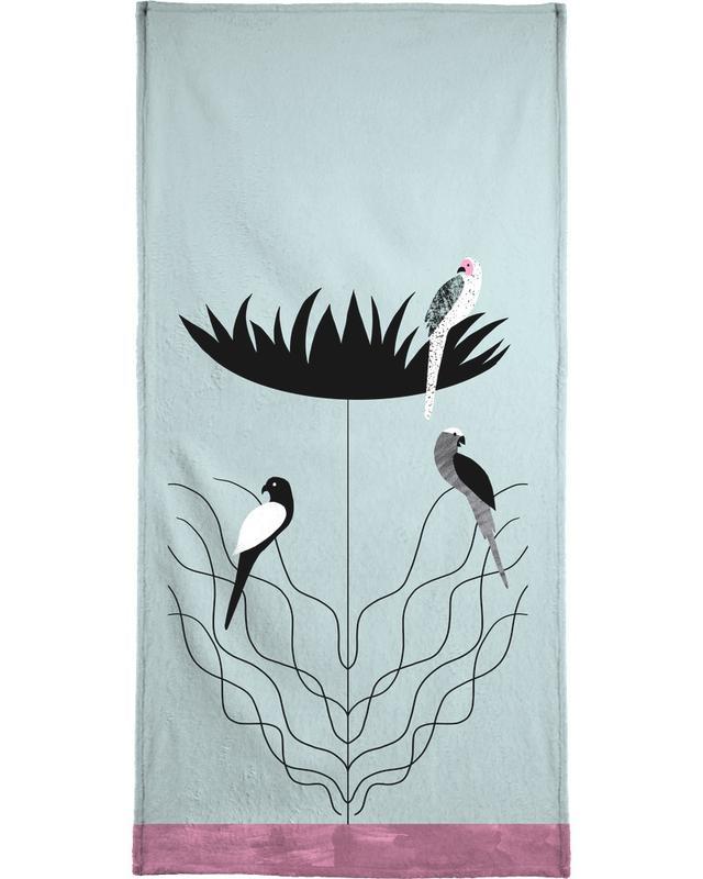 Tropicana - Big Flower Bath Towel