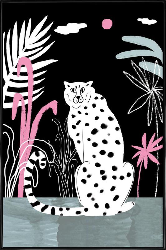 Tropicana - Cheetah and Jungle affiche encadrée