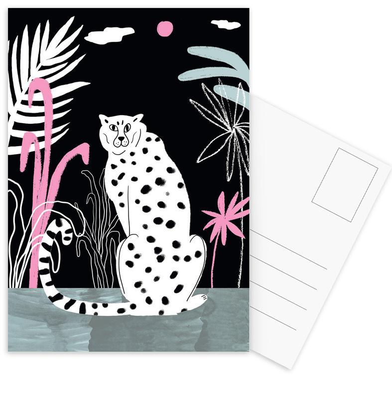 Tropicana - Cheetah and Jungle Postcard Set
