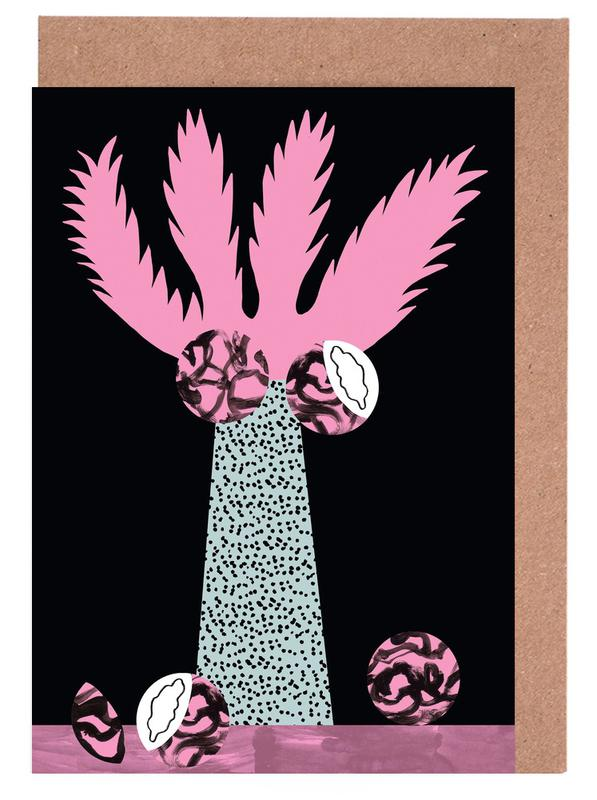 Tropicana - Cabbage Palm Greeting Card Set