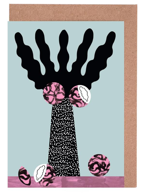 Tropicana - Kentia Palm -Grußkarten-Set