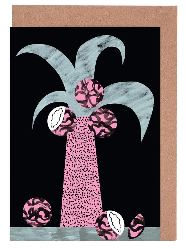 Tropciana - Royal Palm Greeting Card Set
