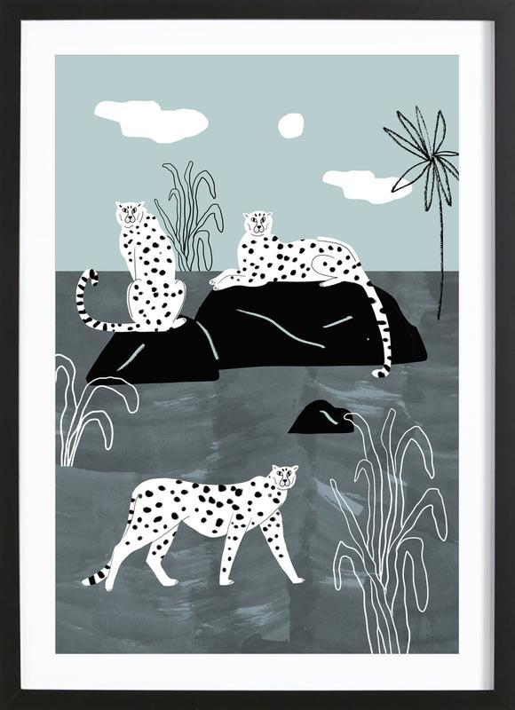 Tropciana - Royal Palm Framed Print