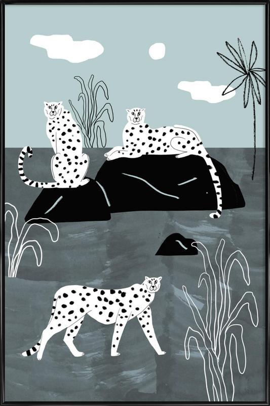 Tropciana - Royal Palm Framed Poster