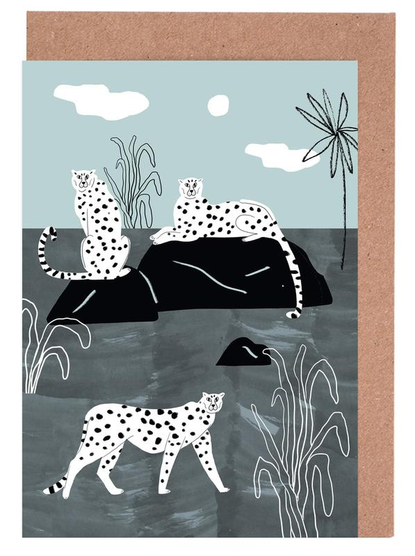 Tropciana - Royal Palm -Grußkarten-Set