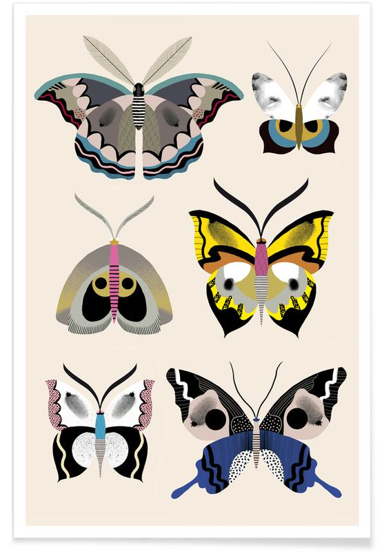 Butterflies - Collection -Poster