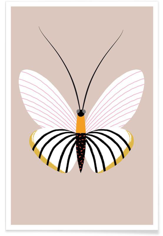 Art pour enfants, Papillons, Butterflies - Paper Kite affiche
