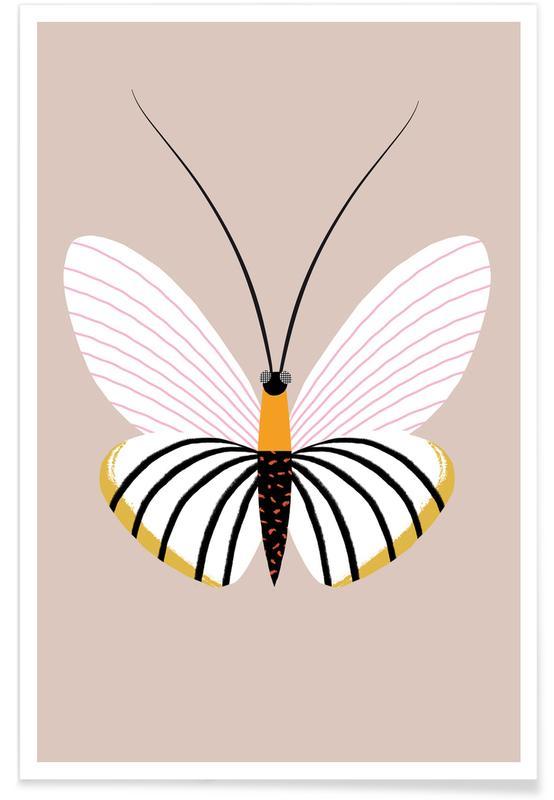 Nursery & Art for Kids, Butterflies, Butterflies - Paper Kite Poster