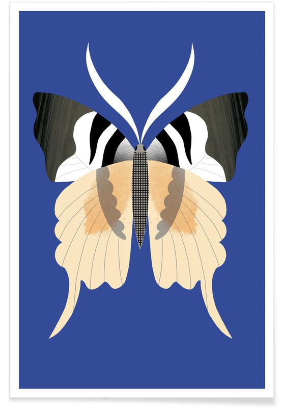 Butterflies - Tailed Emperor Poster