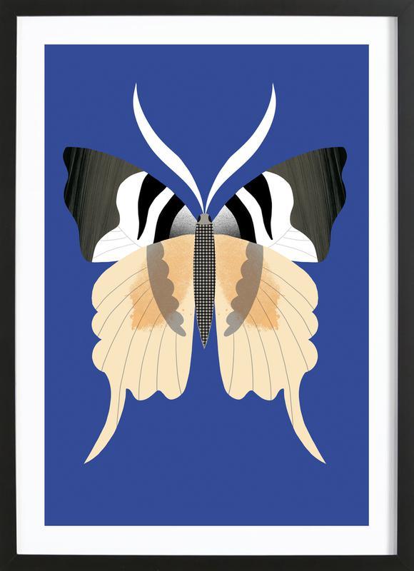 Butterflies - Tailed Emperor Framed Print