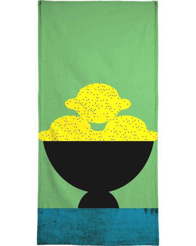 Lemon -Handtuch