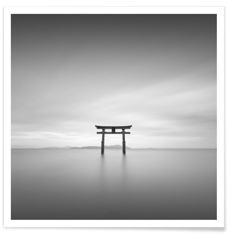 Noir & blanc, Torii Study 2 affiche