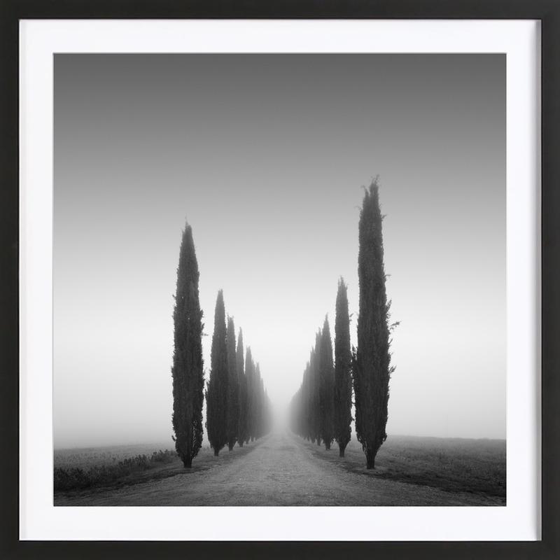 II Viale Poggio Covii -Bild mit Holzrahmen