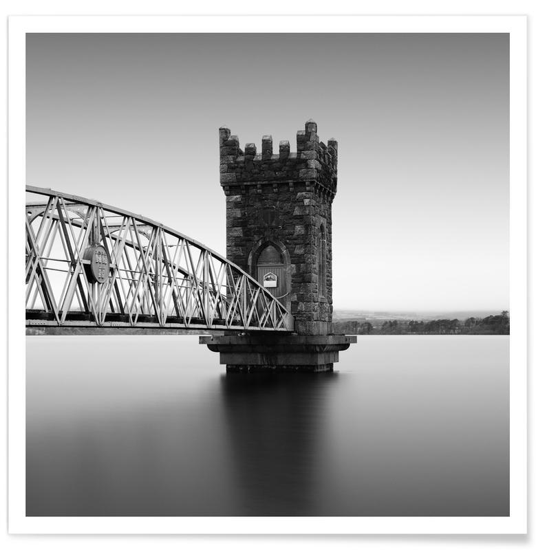 Noir & blanc, Monuments et vues, Tower Of Vartry affiche