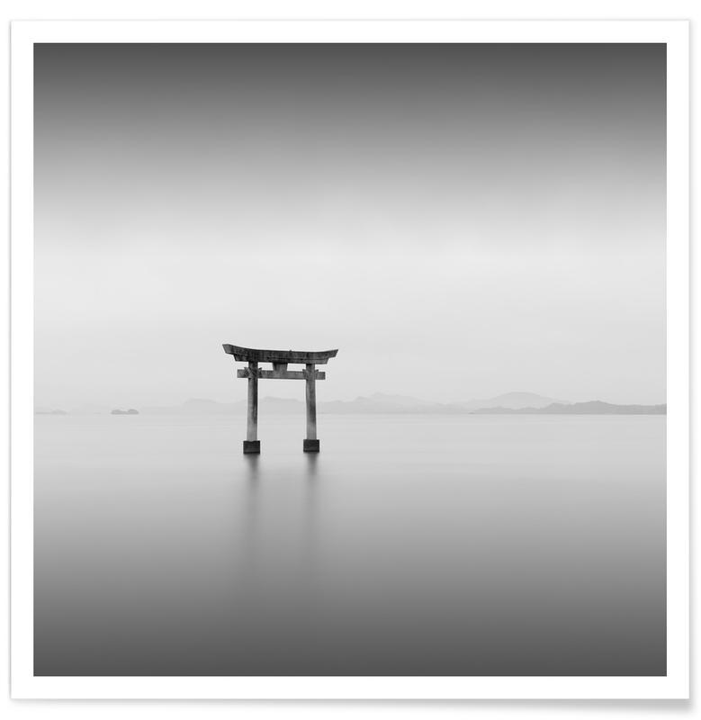 Noir & blanc, Einootsurugi Shrine Ii affiche