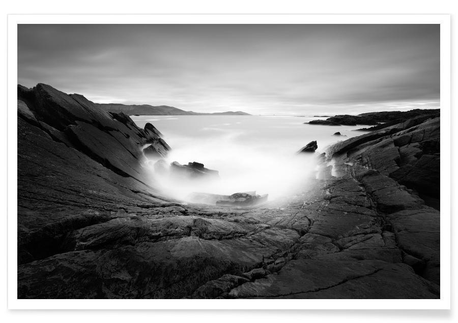 Ozeane, Meere & Seen, Schwarz & Weiß, Ring Of Allihies -Poster
