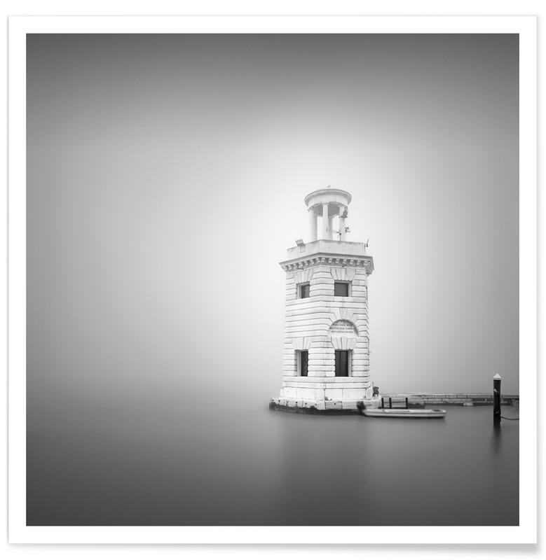 Ozeane, Meere & Seen, Sehenswürdigkeiten & Wahrzeichen, Venedig, Faro San Giorgio Maggiore -Poster