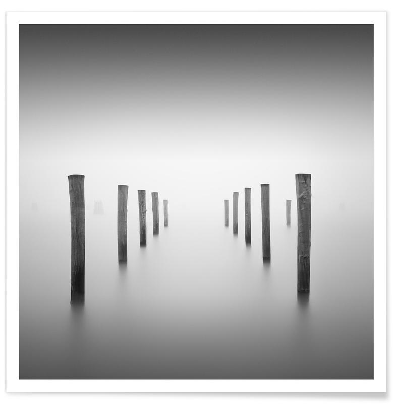 Noir & blanc, Océans, mers & lacs, Into The Fog affiche