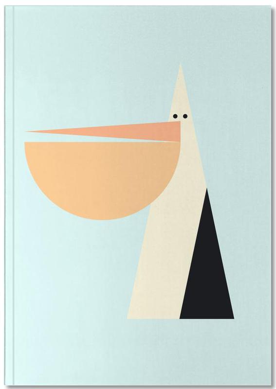 Nursery & Art for Kids, Pelicans, Stevie the Pelican Notebook