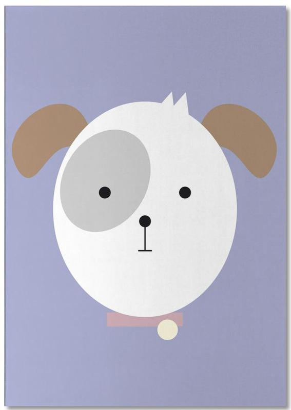 Dogs, Nursery & Art for Kids, Bonnie the Dog Notepad