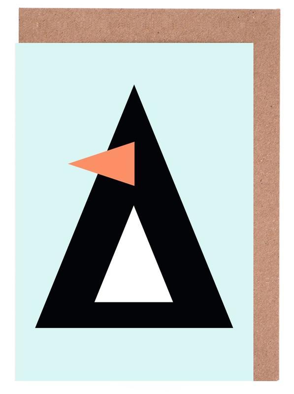 Sonny the Penguin -Grußkarten-Set