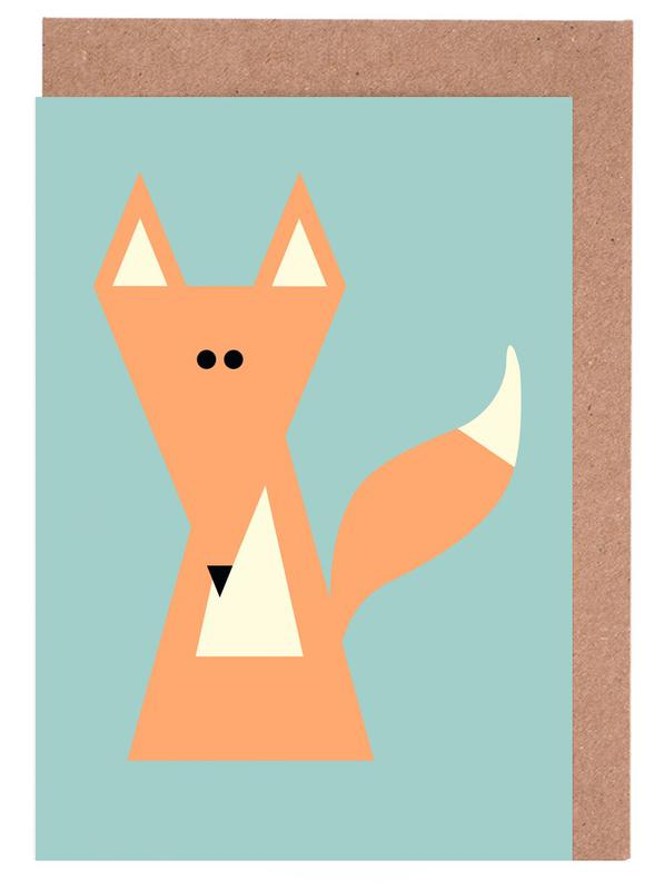 Ray the Fox Greeting Card Set