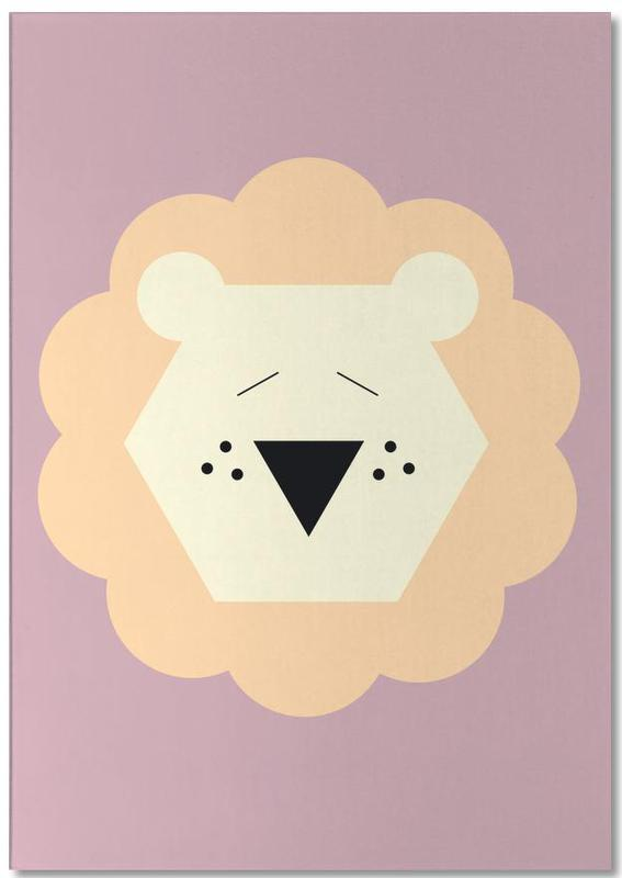 Lions, Nursery & Art for Kids, Tina the Lion Notepad