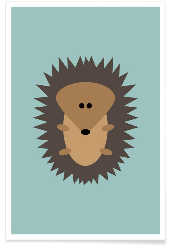Freddy the Hedgehog -Poster