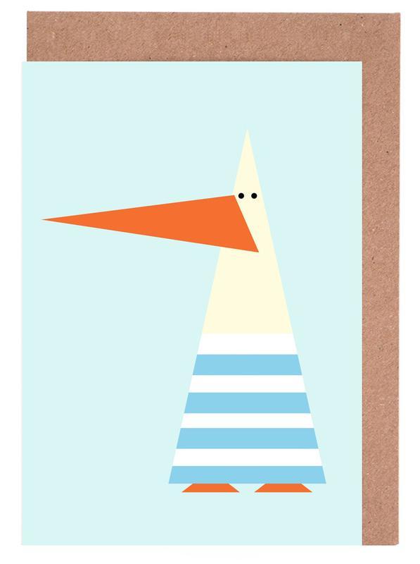 Ringo the Seagull Greeting Card Set