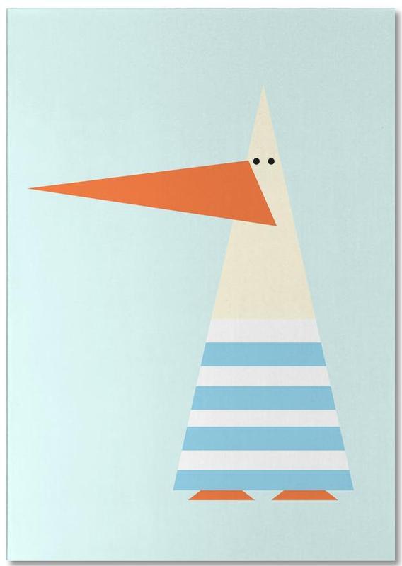 Nursery & Art for Kids, Seagulls, Ringo the Seagull Notepad