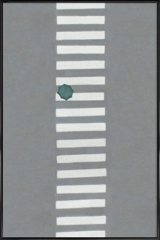 Walking Framed Poster