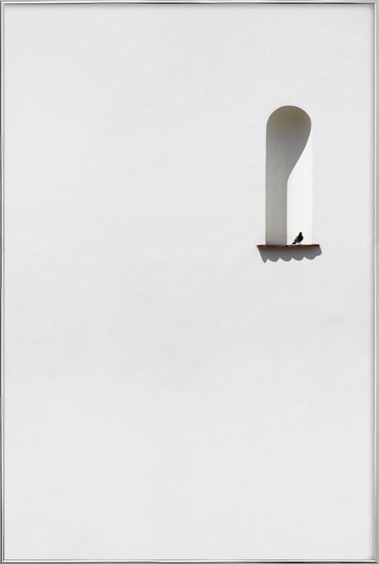 Dove Poster in Aluminium Frame
