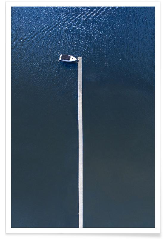 Lonely Boat -Poster