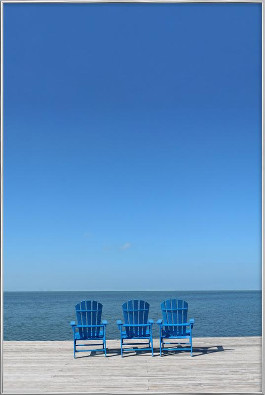 Ocean View poster in aluminium lijst