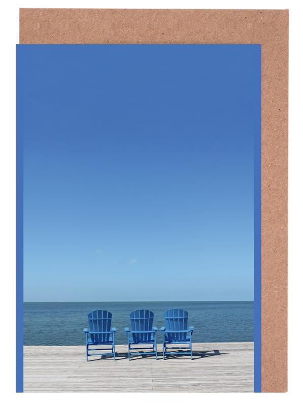 Ocean View -Grußkarten-Set