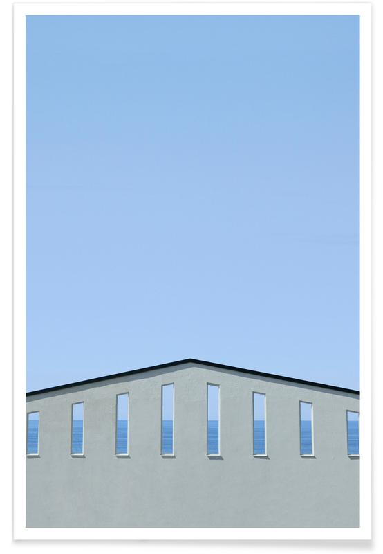 Architectural Details, Ocean Wall Poster