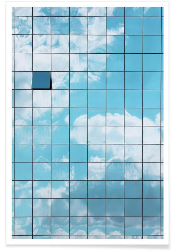 Architectural Details, Reflections Poster