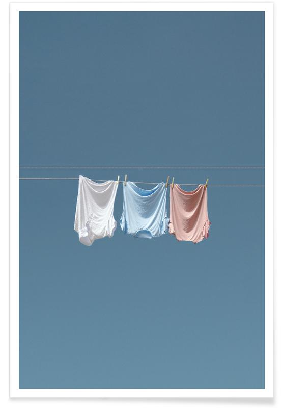 Modefotografie, Dry Clothes Preview -Poster