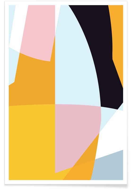 Pastel 4 poster