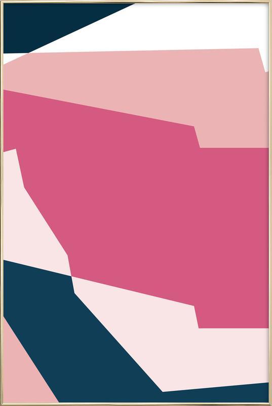 Pinnacle 2 -Poster im Alurahmen