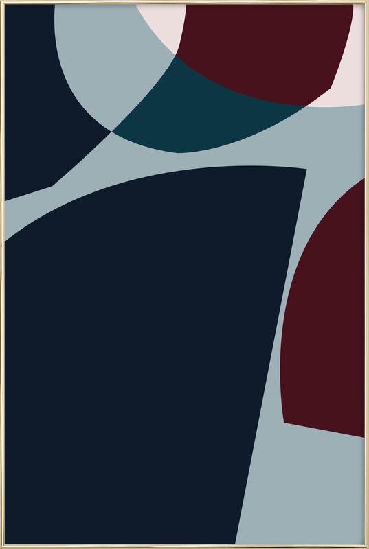 Bloom 4 -Poster im Alurahmen