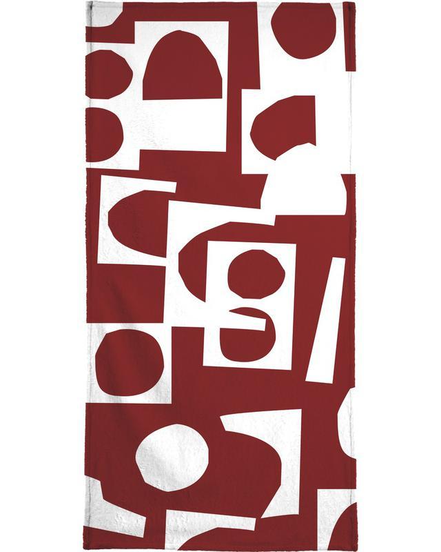 Collage 3 -Handtuch