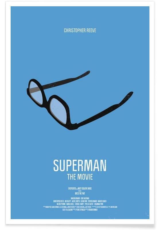 Superman Logo 02 Wall Poster Great Format A0 Print